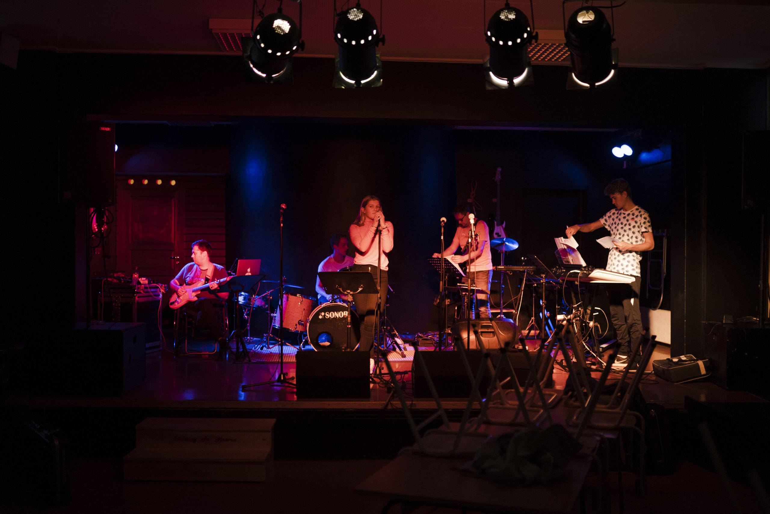 Bilete frå konsert. Foto Skarv Studio