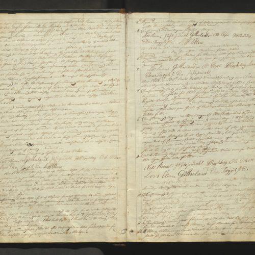 Protokoll frå Ullensvang formannskap 1838. Bilete.