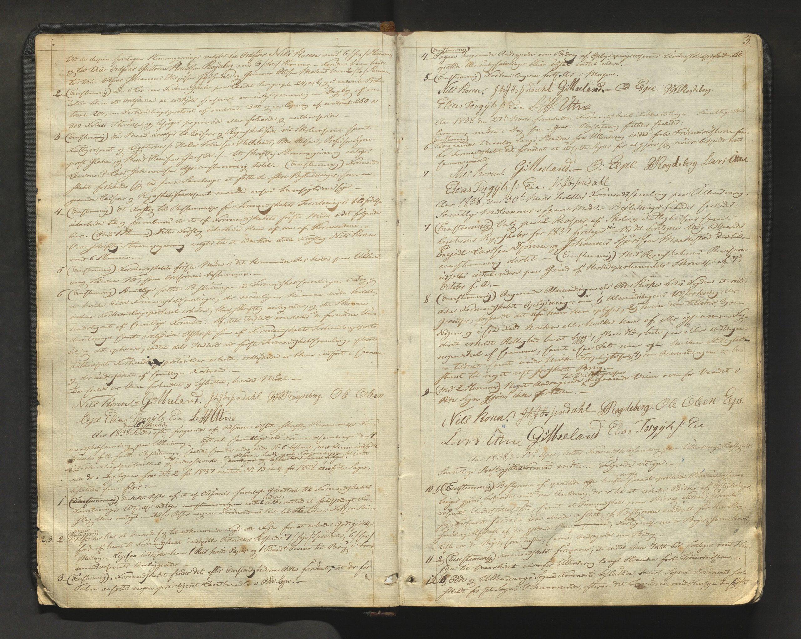 Bildet er henta frå Ullensvang formannskap 1838.